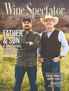 Wine Spectator | Field Blending Old Vine Zin with Morgan Twain-Peterson